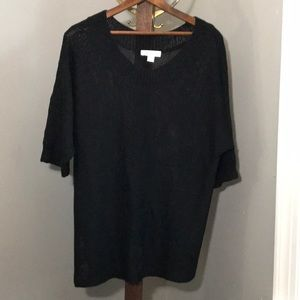 Coldwater Creek Elbow Length Tunic Sweater - Large